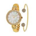 So & Co New York Women's Watch with Bangle Bracelet