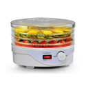 Nutrichef Electric Countertop 4-Tray Food Dehydrator