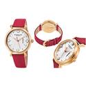 Stührling Original Women's Crystal Dial Watch with Date Display