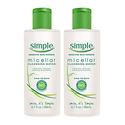 Simple Kind to Skin Cleansing Water Pack of 2