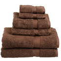 Superior 900 GSM Luxury Bathroom 6-Piece Towel Set
