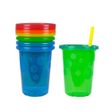 The First Years Take & Toss Spill-Proof Straw Cups 4 Pack