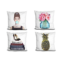 LiLiPi Fashion-Art Accent Pillow by Amanda Greenwood