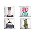 LiLiPi Fashion-Art Accent Pillow by Amanda Greenwood