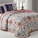 Vibrant, Reversible Quilt Sets (5-Piece)