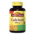 Nature Made Calcium 600 Mg 220-Count