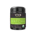 Viva Naturals Organic Matcha Green Tea Powder