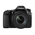 Canon EOS 80D Digital SLR Camera with 18-135mm Lens