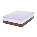"Lucid 3"" Ventilated Lavender-Infused Memory Foam Mattress Topper"