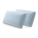 Hotel Rio Arctic Sleep Cool Blue Memory Foam Pillow (2-Pack)