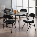 Cosco Products 5-Piece Folding Table and Chair Set