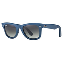 Ray Ban Wayfarer Blue Leather Sunglasses