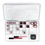 mDesign 透明彩妆收纳盒