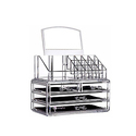 Cq acrylic 4 Drawers and 16 Grid Makeup Organizer