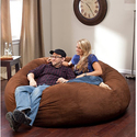 Big Joe XL Fuf in Comfort Suede