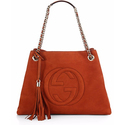 Gucci Soho Suede Shoulder Bag