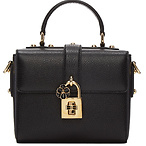 Black Small 'Dolce Soft' Bag