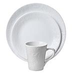 Corelle 雕花陶瓷餐具16件套