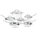 Cuisinart CSMW-10 Chef's Classic Stainless Steel 10-Piece Cookware Set