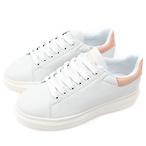 Domba粉白拼色小白鞋