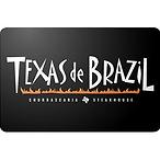 Texas De Brazil 礼卡