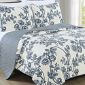Reversible Super-Soft Floral Quilt Set (2- or 3-Piece) from $26.99
