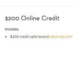 $200网上购物券