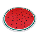 Round Beach Towels: Food Lovers