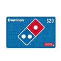 价值$20 Domino's 电子礼卡