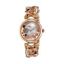 Akribos XXIV AK678RG Lady Diamond Bracelet Watch