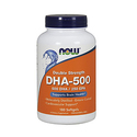 NOW DHA-500 180 Softgels