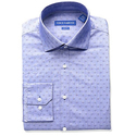 Vince Camuto Men's Slim Fit Stretch Dobby Dress Shirt