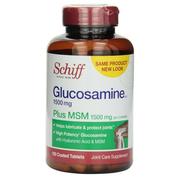 Schiff Glucosamine 1500mg Plus MSM 1500mg and Hyaluronic Acid