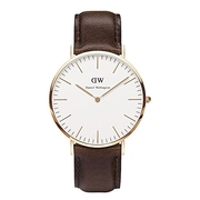 Daniel Wellington Men's Classic Brown Watch
