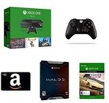 Xbox One 1TB Console+5 游戏套装+ Amazon.com $50 礼品卡+手柄