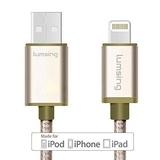 Lumsing 尼龙苹果产品数据充电线(Apple MFI 认证)