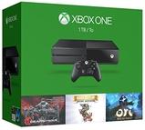 Xbox One 1TB Console +3个游戏