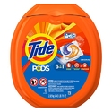 Tide Pods HE Turbo Laundry Detergent Packs, Original Scent, 81 Count