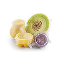 Spice 'n Spoon Silicone Lids 6-Pack