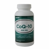 GNC 健安喜辅酶CoQ10 200mg60粒