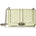 Rebecca Minkoff Love Crossbody Shoulder Bag, Honey Dew