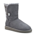UGG Australia Womens Bailey Button Bling Boot Grey