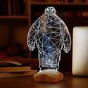 Fding 3D Optical Illusion Visualization LED Night Lights