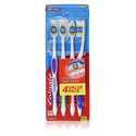 Colgate Extra Clean Full Head, Medium Toothbrush, 4-Count (Pack of 3)