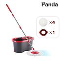 Panda Premium Effortless Wring Spin Mop and Bucket Set
