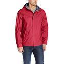 Tommy Hilfiger Men's Waterproof Breathable Hooded Jacket, Red, Large