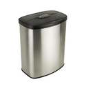 Nine Stars DZT-8-1 Infrared Touchless Stainless Steel Trash Can