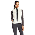 Marc New York Performance Women's Performance Straight Zip Vest, Ivory, Large