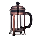 Mandarin-Gear Copper Stainless Steel French Press Coffee Maker