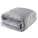 Balichun King Polar Fleece Fuzzy Blankets - Grey